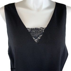 NEW Lane Bryant Tank Camisole Shell Black Top 16